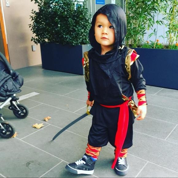 Other - Ninja warrior costume — size 2-4
